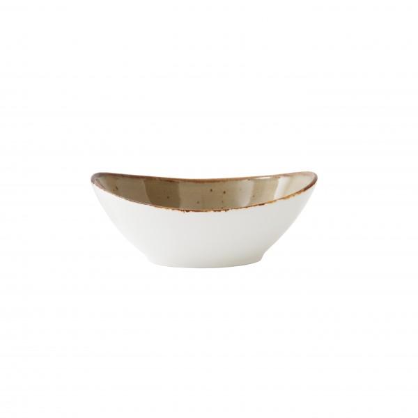 """TC Erthe Shitake Oval Bowl 8"""" (20cm) 20oz"""
