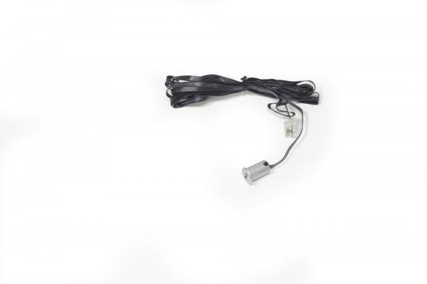 IR-Türkontakt Sensor Universal 13x10x18 einbohren silber 2000 mm