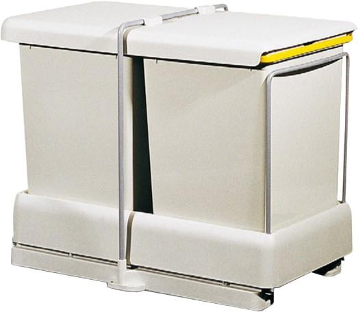 auszug einbauabfallsammler 2 x 11 l auszugsautomatik deine traumk che. Black Bedroom Furniture Sets. Home Design Ideas