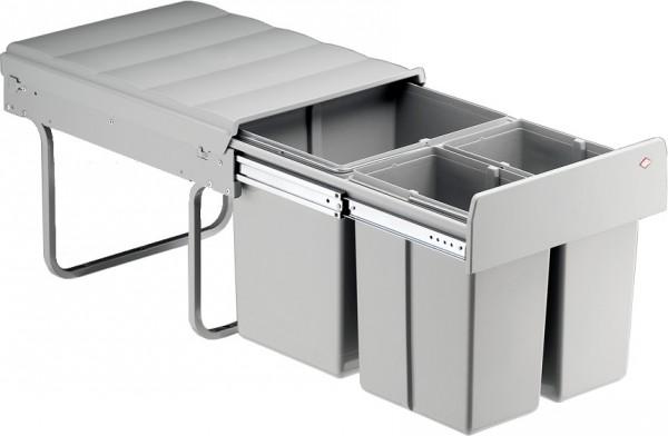 Wesco TrioMaster 40DT Mülleimer Abfalleimer Abfallsammler Einbau 32 L Vollauszug