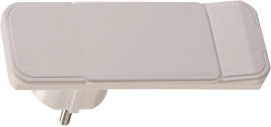 Plug mit Hebel bzw. Auswurfmechanik, weiß ohne Kabel