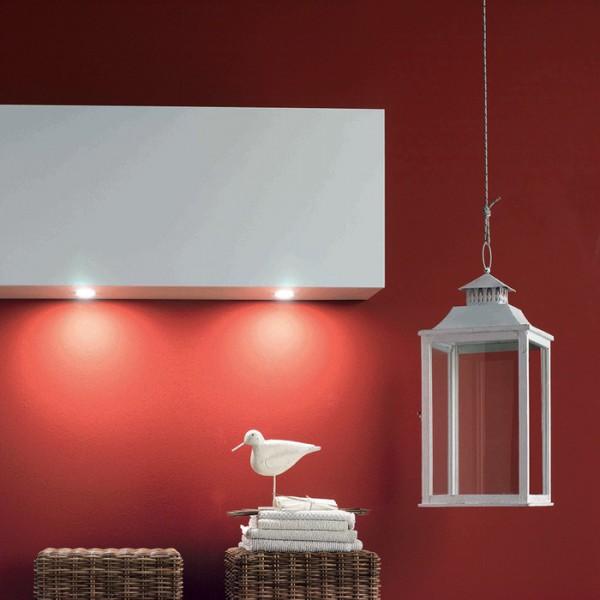 LED Strahler Moonlight, 3er Set, Einbau edelstahl, 3,6W, inkl. Konverter und Touchsensor