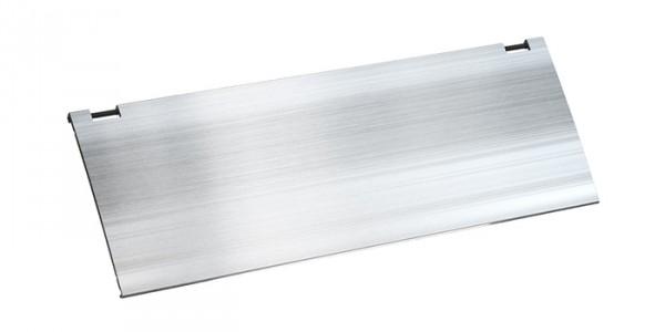 Deckel für KAPSA, eloxiert Aus Aluminium, silbergrau eloxiert