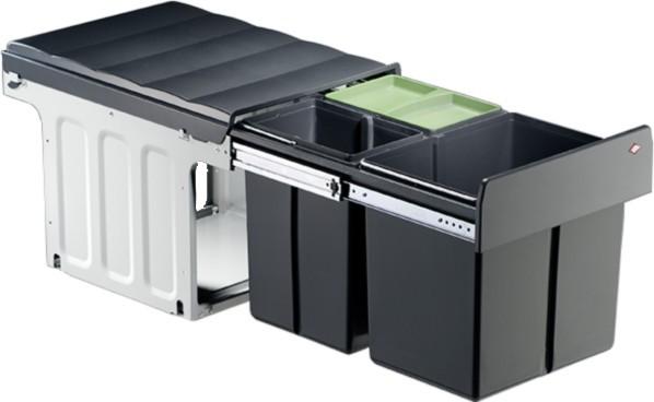 Profiline Trio-Master Einbau Abfalleimer Mülleimer Abfallsammler 40 DT 16+2x8 L