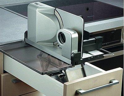 RITTER Einbau Brotschneidemaschine Allesschneider AES 52 S silber ab 30 cm Korpus