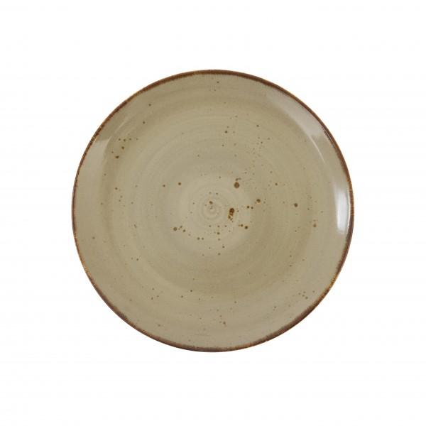 "TC Erthe Shitake Coupe Plate 10.75"" (27.5cm)"