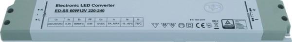LED Konverter 60 W, 12V 12-fach Verteiler