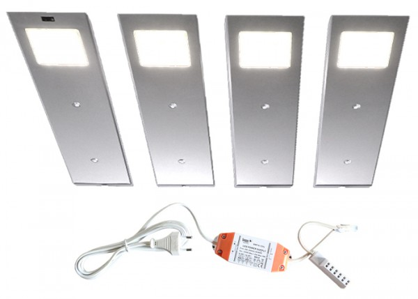 LED-ANGELO 4er-Set inkl. Trafo + Sensor