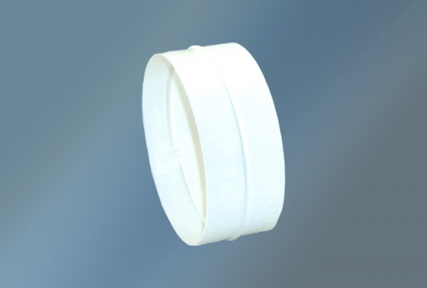 Rohr-und Schlauchverbinder Ø 125 mm, weiß