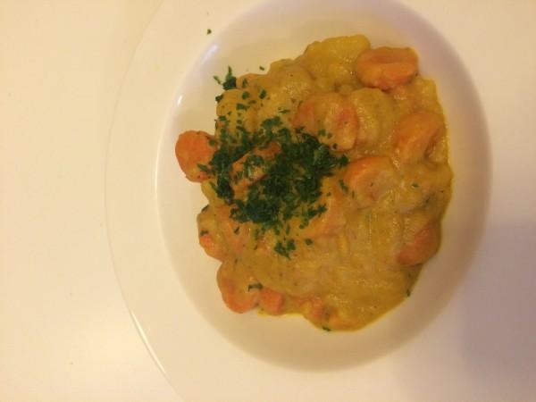 Indisches-Kartoffelcurry