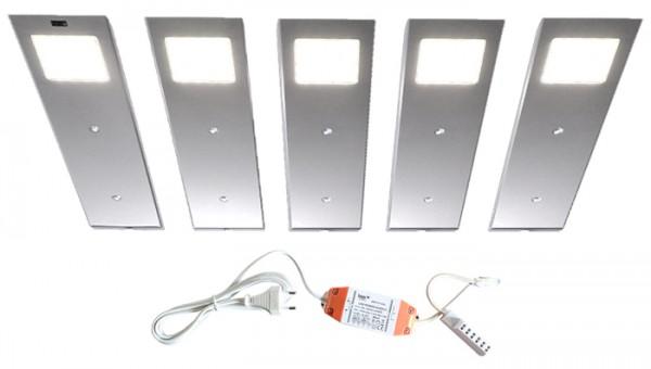 LED-ANGELO 5er-Set inkl. Trafo + Sensor