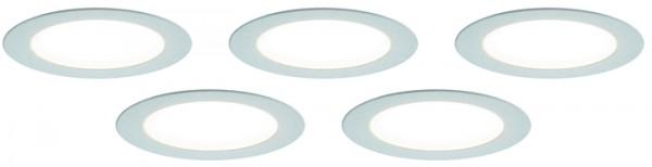 LED Einbauleuchte, 5er Set, Touchsensor 2,5 W je Stahler, NW, Kon 30W