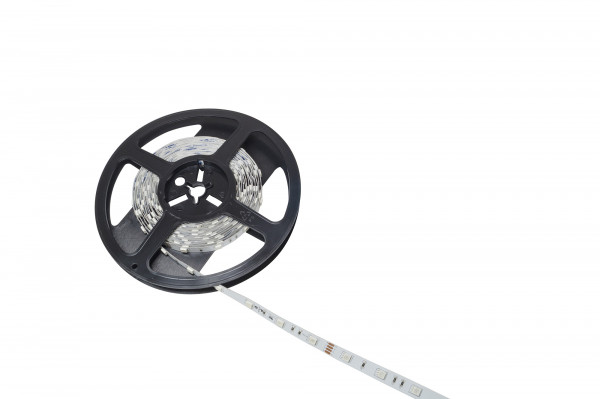 LED RGB Band 24 V 10 mm 7,2 W/m 36LED/m 5 m 1,8 m Zuleitung