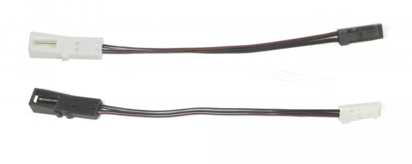 Anschlusset Leitungen Sensorschalter 12V an 24 V Konverter 2-teilig