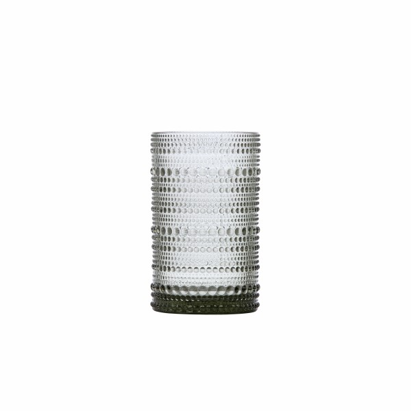 D&V Jupiter Smoke Grey Ice Bev Glass 13oz (.35L) 7.5x12.5cm