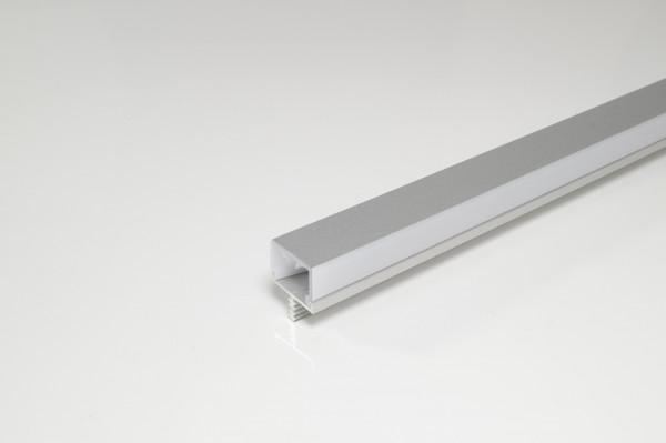Stirnkantenprofil f. Mittelseite 19 mm EV1 Folie vorn 3000 mm