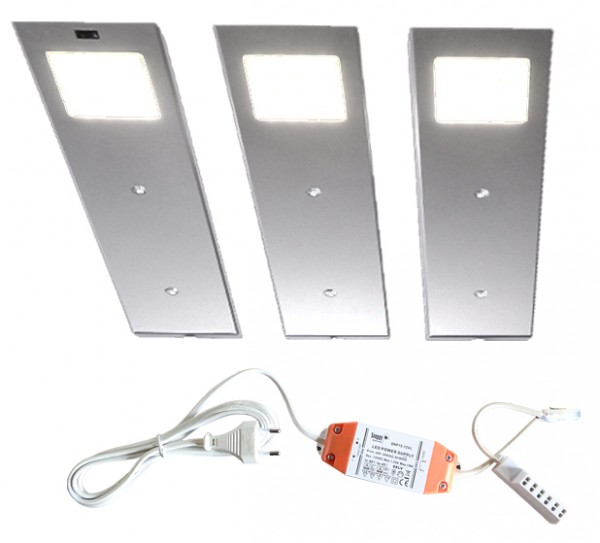 LED-ANGELO 3er-Set inkl. Trafo + Sensor