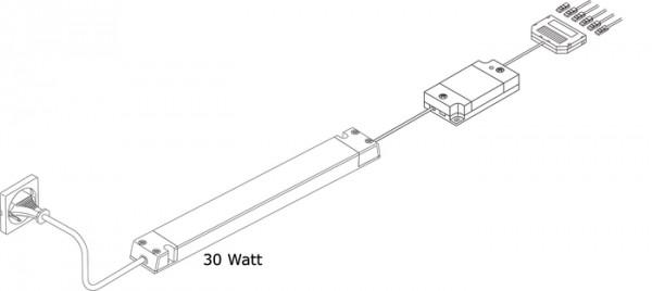 Emotion Startset, Fernbedienung, 30 Watt inkl. Fernbedienung, 30W Kon.