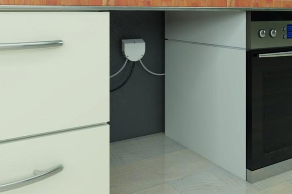 Küchenanschlussbox 5m Herdanschlussdose, Kochfeld, Backofen