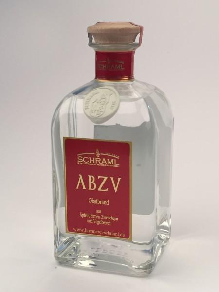 ABZV, Apfel-Birne-Zwetschge-Vogelb., 42% 0,5 L