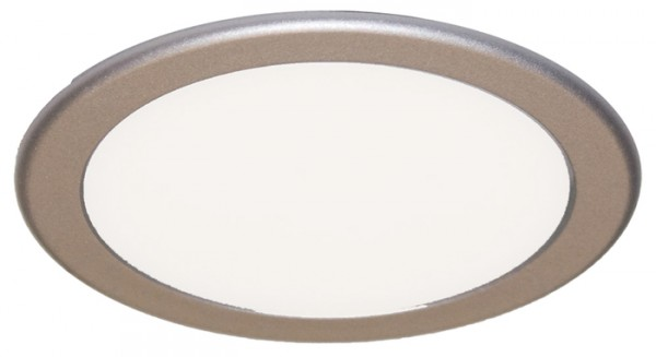 LED Strahler Moonlight, Einzelleuchte edelstahl, 3,6W, ohne Konverter