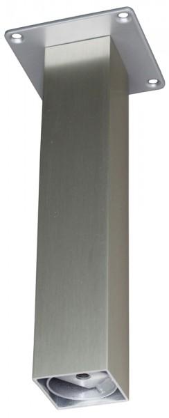 Barkonsole 50 x 50 gerade 220 mm, Edelstahloptik