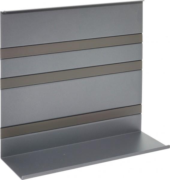 Universalablage Linero MosaiQ, schwarz B350 x T110 x H300 graphitschwarz