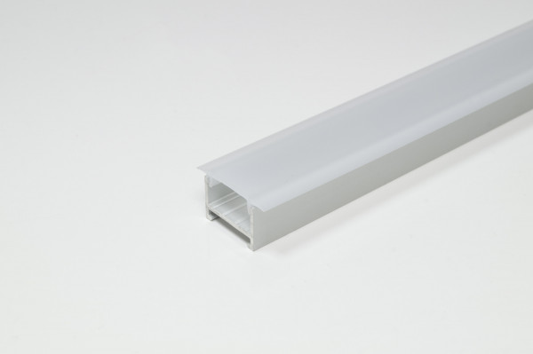 Abdeckprofil für Profil Porto 1 Kst. Opal 3000 mm