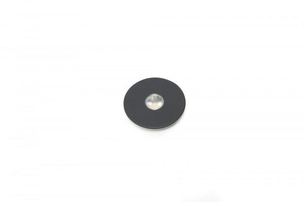 Einbauleuchte Superlight 12 V 2,9 W Emotion schwarz matt