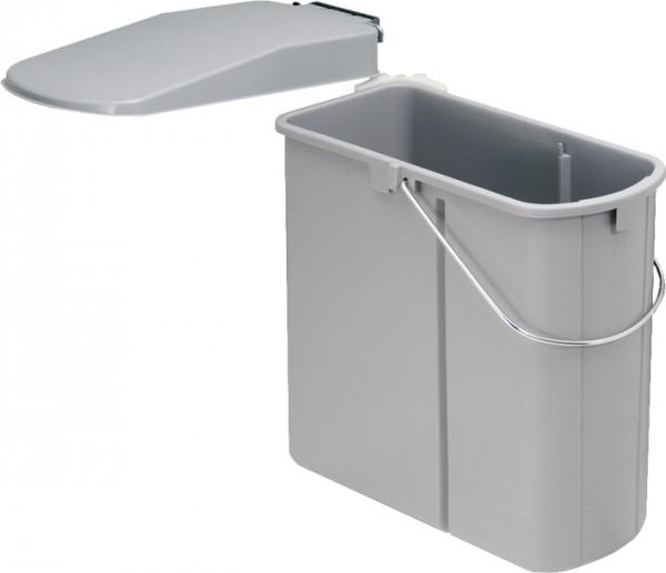Wesco Einbau Abfallsammler Mülleimer Abfalleimer Mülltonne Türmontage 19 L grau