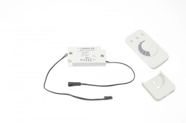 LED Funkdimmer Empfänger und Fernbedienung 12 V max 36 W
