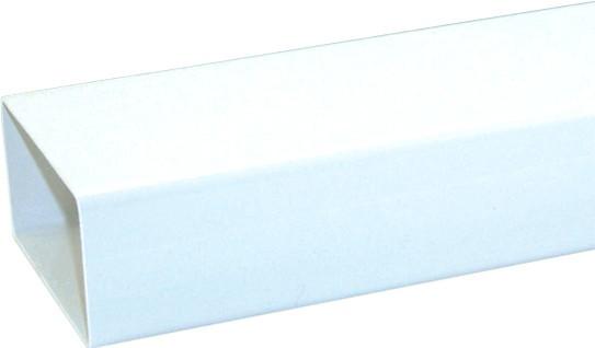 Abluft Ø 125 mm Vierkantrohr