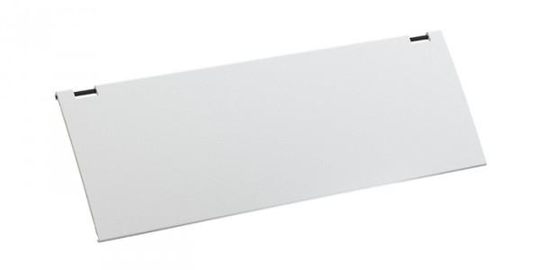 Deckel für KAPSA, weiß Aus Aluminium, weiß lackiert