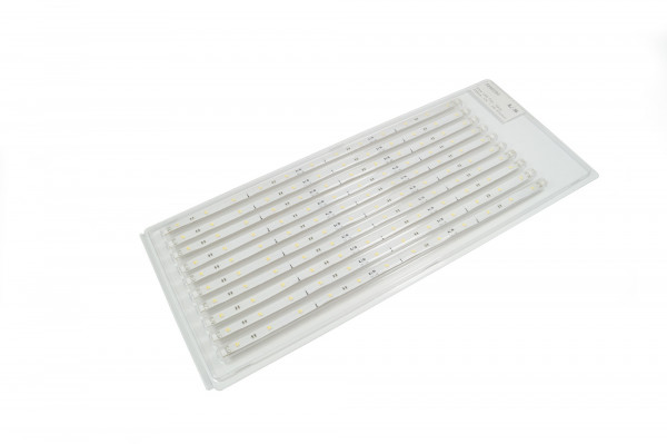 10 er Pack LED Strip Flex 12 V Silikon 8 mm 1,2 W Emotion 335 mm weiß