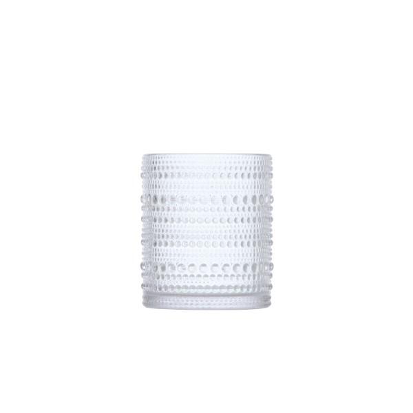 D&V Jupiter Clear DOF Glass 10oz (.30L) 7.5x9.5cm