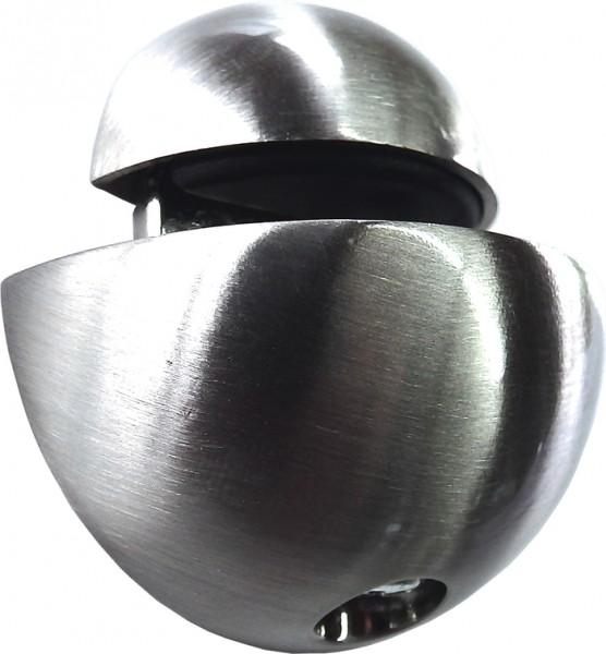 Glas- und Regalträger für Tablarstärke bis 6 mm, Edelstahl