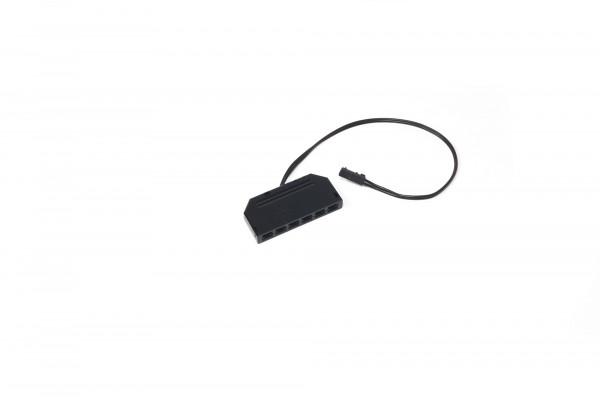 LED 6-fach Verteiler 12 V 0,2 m Zuleitung