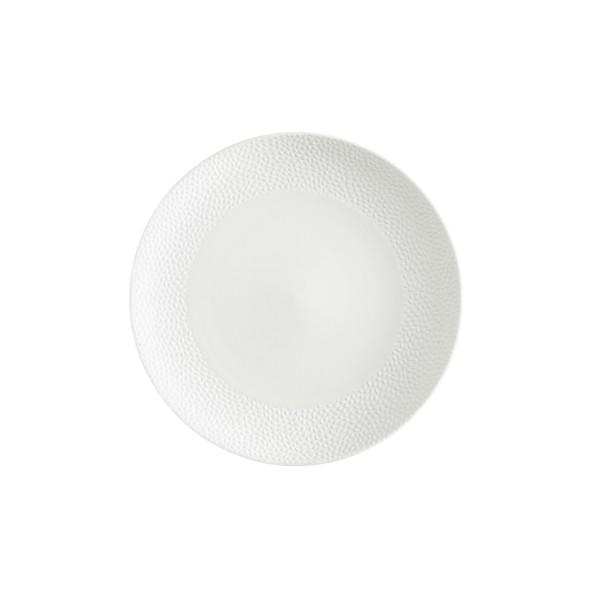 "TC Cobble White Matte SW Plate 10.75"" (27.5cm)"