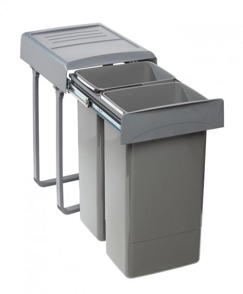 Abfallsammler orion grey 2x 26 L 335x478x575mm