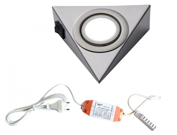 LED-PIRA 1er Set mit Schalter