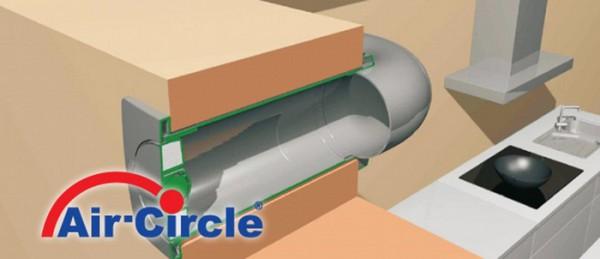 Aeroboy Energiesparmauerkasten, Durchmesser 125 mm, Außengitter Kunststoff