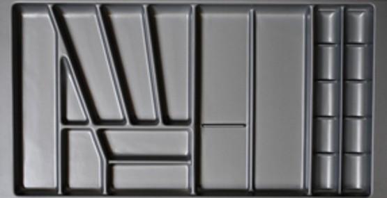 90er Besteckkasten Besteckschublade Besteckeinsatz individuell zuschneidbar