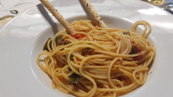 Spaghetti-mit-feuriger-Tomatensosse-1