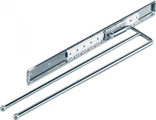 Handtuchauszug zweiarmig B 104 mm, L 325 mm, chrom