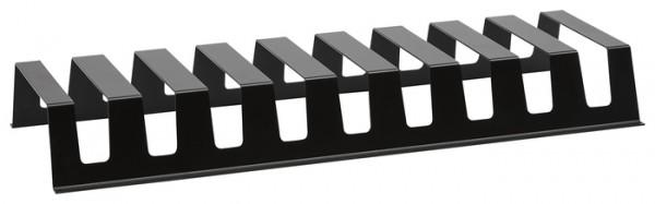 Tellerhalter 60 schwarz pulverbeschichtet 558x207x68mm