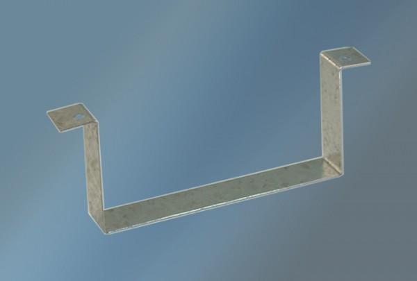 Flachkanalhalterung verzinkt Durchmesser 125 mm