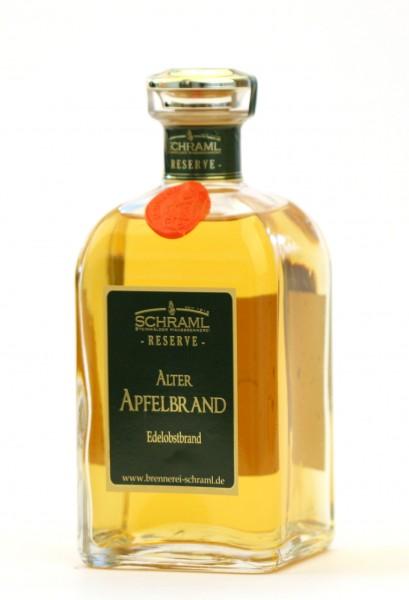 Alter Apfelbrand 43% vol. RESERVE 0,5 L