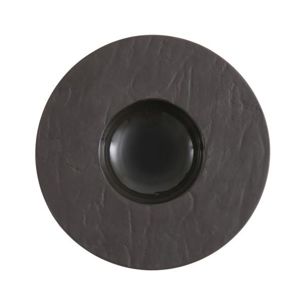 """FSW Black Slayte Wide-Rim Bowl 4"""" (10cm) 0.5oz"""