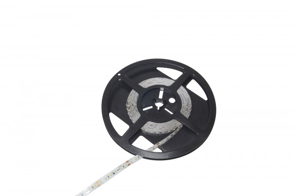 LED Band Tudo 24V 8 mm 9,6W/m 120LED/m CW 6200 K 5 m 1,8m Zul.