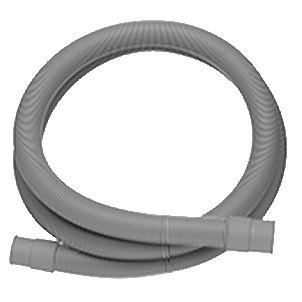 Ablaufschlauch für Wasch- und Spülmaschinen, L = 1500 mm
